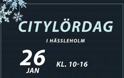 Citylördag 26 jan