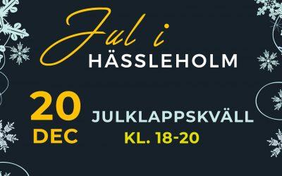 Julklappskväll i Hässleholm