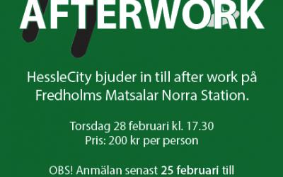After Work 28 februari