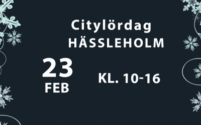 Citylördag 23 februari