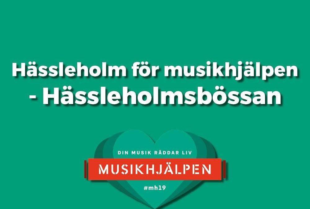 Musikhjälpen-Hässleholmsbössan 9-15 dec