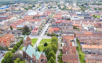 Samarbetsprojekt ska utveckla Hässleholms centrum som mötes- och handelsplats